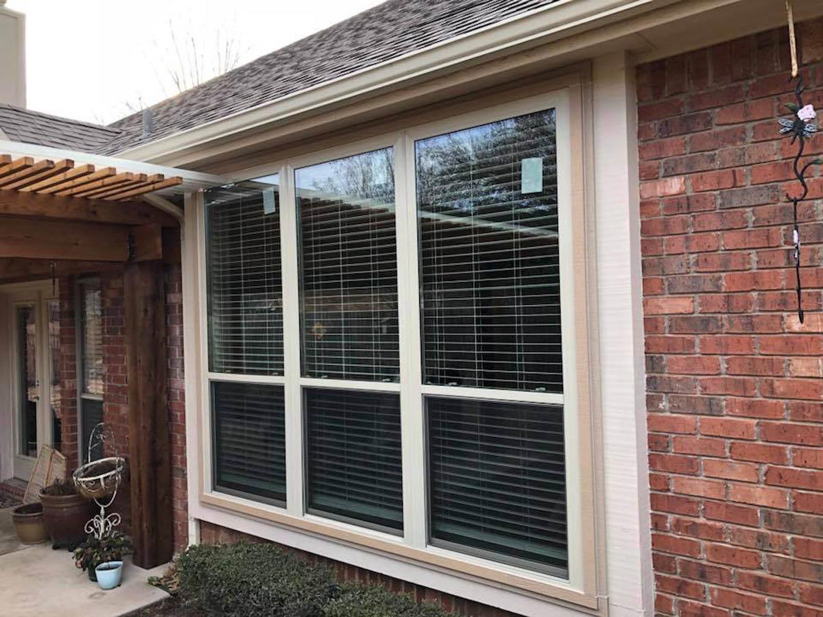 Energy Efficient Windows in Brick Home